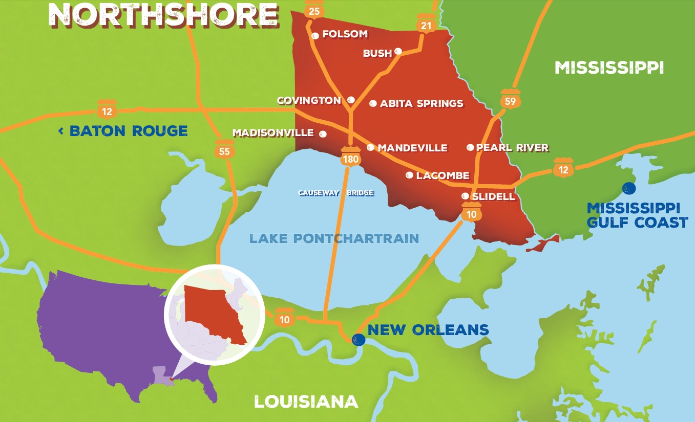 Re-Unite on Louisiana's Northshore