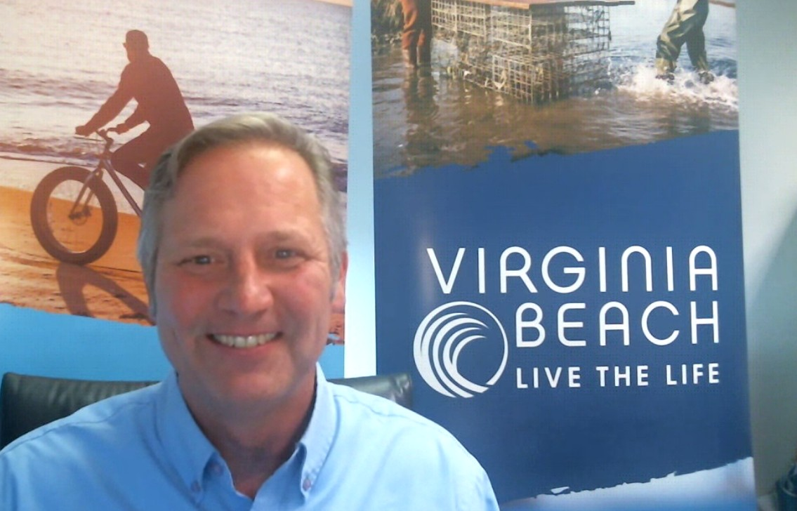 Life is better at the beach!  Just ask Scott Warren
